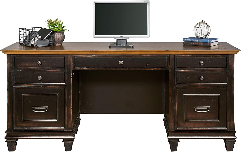 Martin Furniture Hartford Credenza, Brown - Fully Assembled
