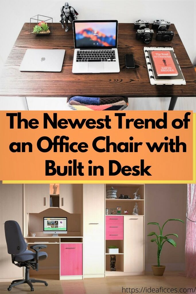 The Newest Trend of an Office Chair with Built in Desk