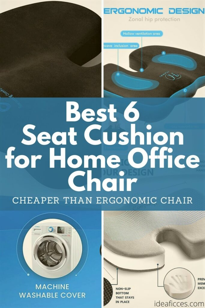 Best 6 Seat Cushion for Home Office Chair