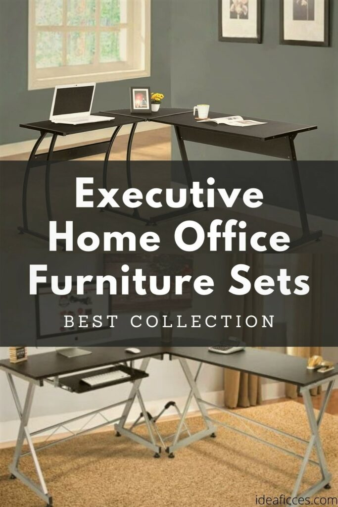 Collections of Executive Home Office Furniture Sets