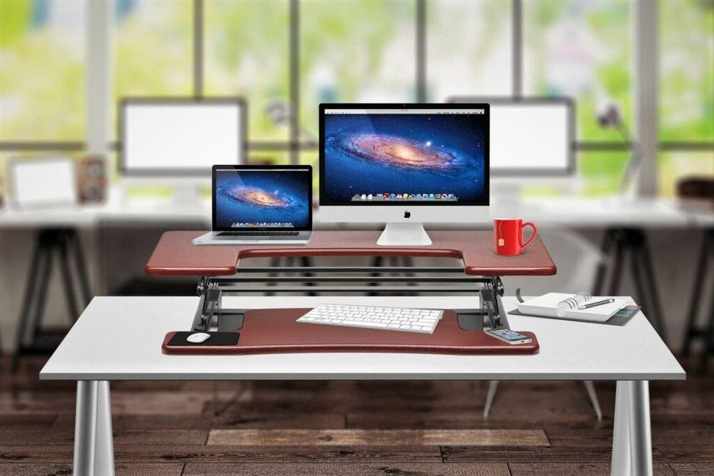 Halter ED-600 Preassembled Elevating Desktop Stand