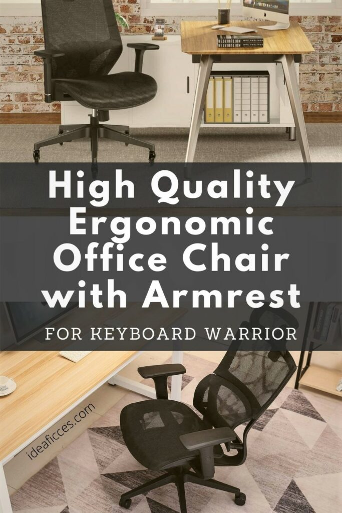 High-Quality Ergonomic Office Chair with Armrest